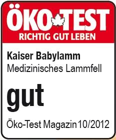 Öko test Baby Lammfell