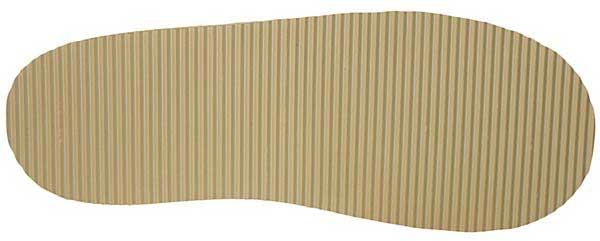 PVC Sohle für Lammfell Hausschuhe mit fester Sohle